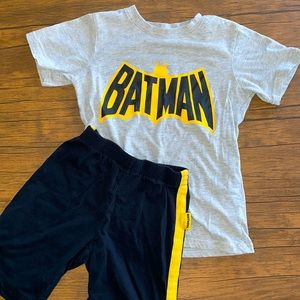 Batman summer pajamas, size 7